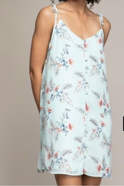 Naked Zebra Sage Floral Dress - Product Mini Image