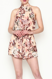 Sage Floral Romper - Product Mini Image