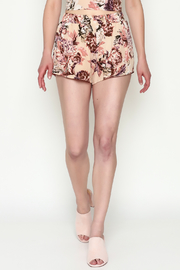 Sage Floral Shorts - Product Mini Image