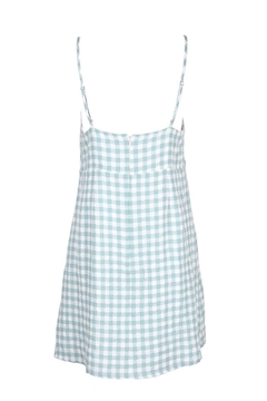 MinkPink Sage Gingham Dress - Alternate List Image