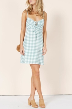 MinkPink Sage Gingham Dress - Product List Image