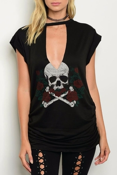 Shoptiques Product: Graphic Skull Tee