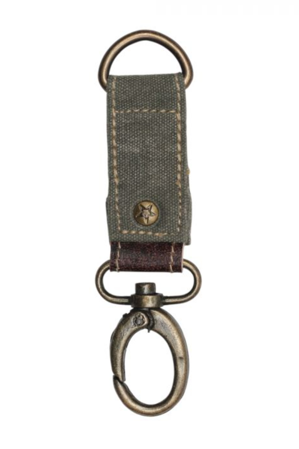 MarkWEST-Myra Bag Sage Green Key Fob - Front Cropped Image