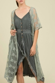 POL Sage Lace Duster - Product Mini Image