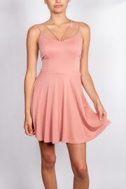 Sage Pink-Crossings Skater Dress - Product Mini Image