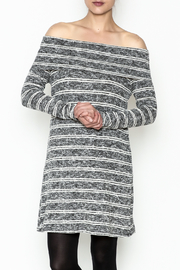 Sage Stripe Sweater Dress - Product Mini Image