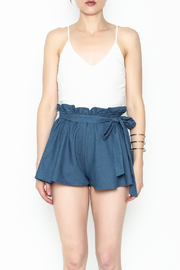 SAGE THE LABEL Contrast Romper - Front full body