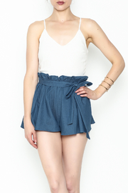 SAGE THE LABEL Contrast Romper - Front cropped
