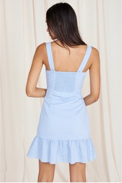 SAGE THE LABEL Sage The Label Infinity Mini Dress - Blue - Alternate List Image