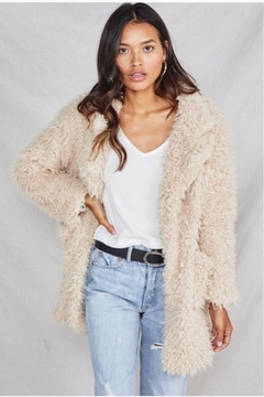 SAGE THE LABEL Sage The Label Penny Lane Jacket - Taupe - Product List Image