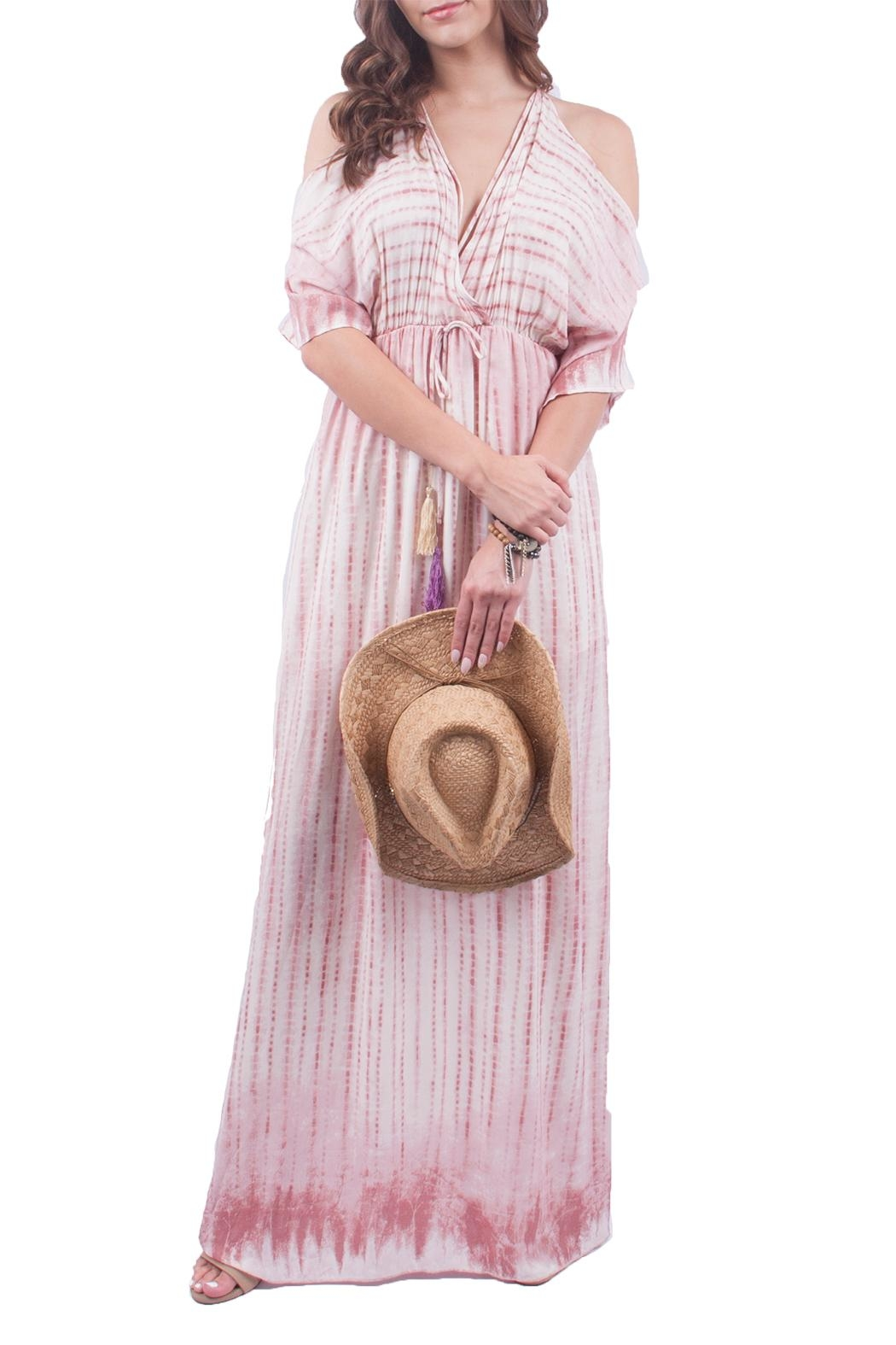 Sage Tie-Dye Maxi Dress - Main Image