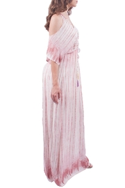 Sage Tie-Dye Maxi Dress - Front full body