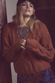 SAGE THE LABEL Chunky Clay Sweater - Product Mini Image