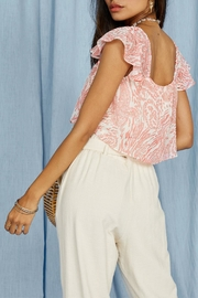 SAGE THE LABEL Desert House Top - Front full body