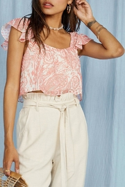 SAGE THE LABEL Desert House Top - Side cropped