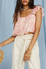 SAGE THE LABEL Desert House Top - Back cropped
