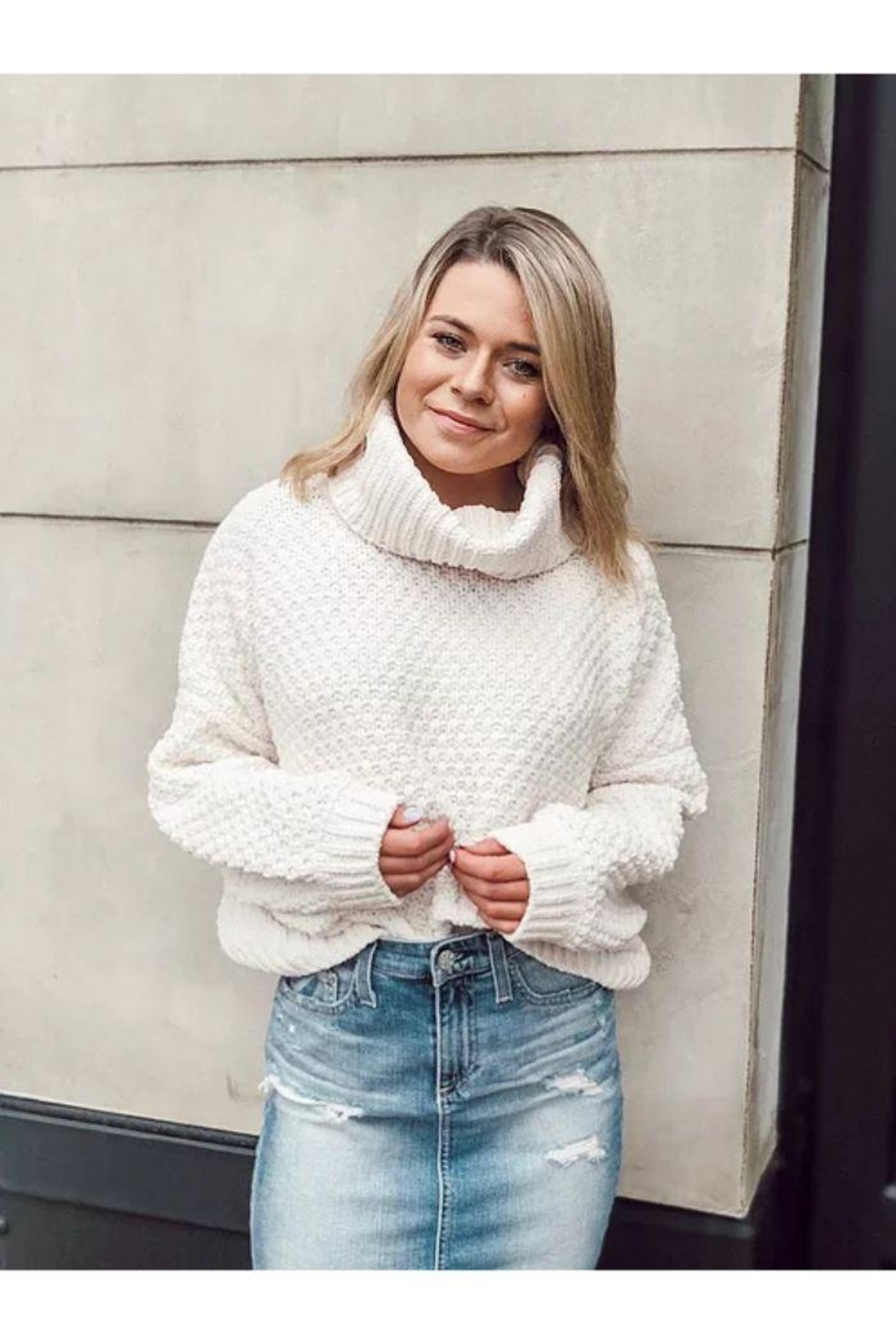 SAGE THE LABEL Dusty Road Sweater - Main Image