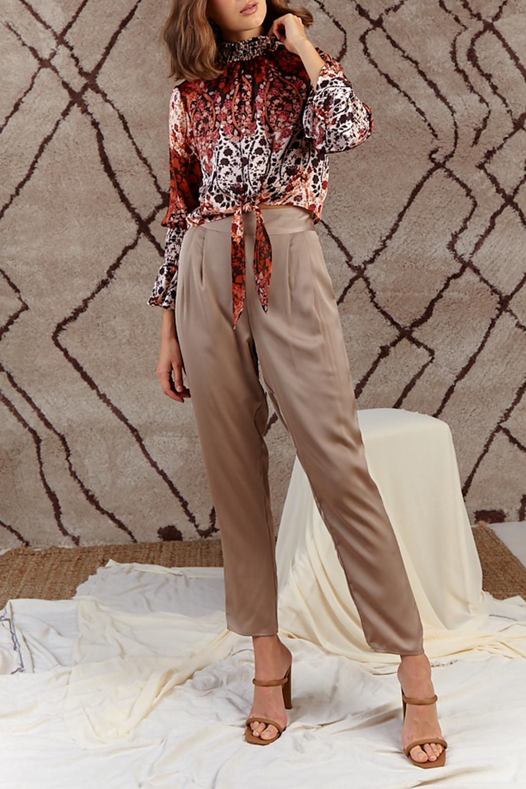 SAGE THE LABEL Free Wheelin' Blouse - Front Full Image