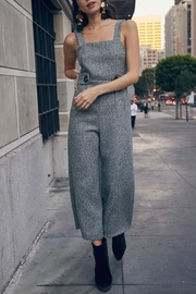SAGE THE LABEL Grey Button Jumpsuit - Product Mini Image