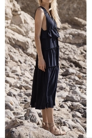 SAGE THE LABEL Navy Maxidress - Front cropped