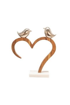 Shoptiques Product: Birds Perched On Heart