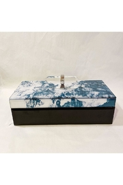 Sagebrook Home Blue Marble Box - Product Mini Image