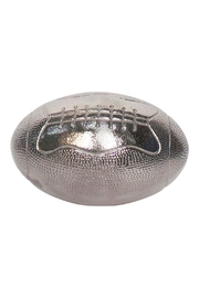 Sagebrook Home Rugby Ball Silver - Product Mini Image