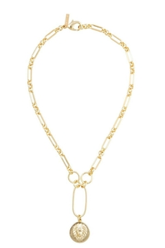 Sahira Jewelry Designs Zoe Lion Lariat - Product List Image