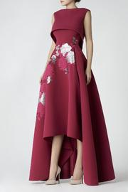 Saiid Kobeisy Cap Sleeve Gown - Front cropped