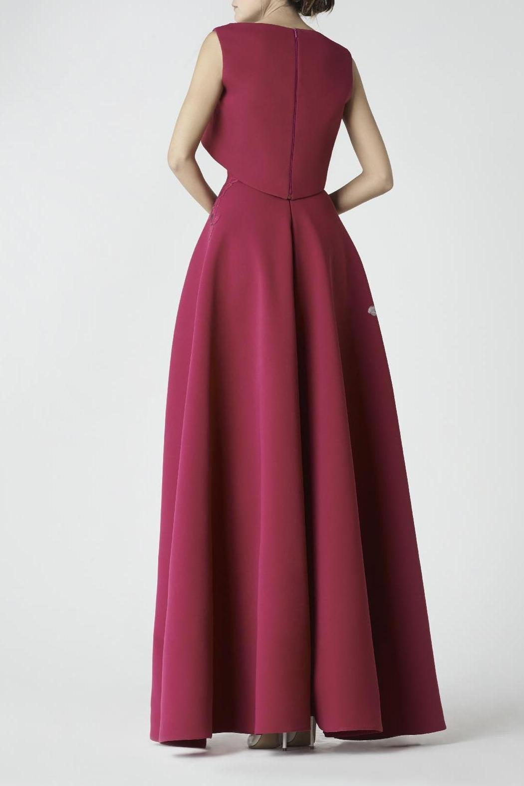 Saiid Kobeisy Cap Sleeve Gown - Front Full Image