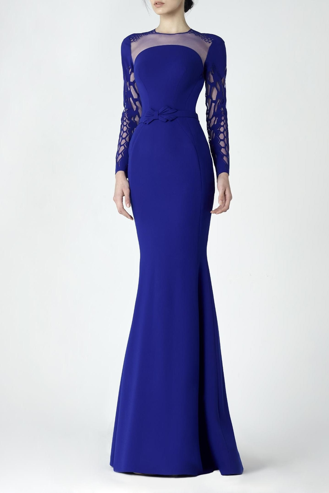 Saiid Kobeisy Long Sleeve Gown - Main Image