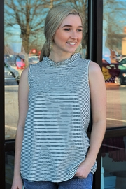 Mittoshop Sail Away With Me Striped Tank - Product Mini Image