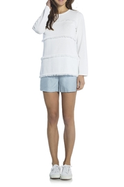 Sail to Sable Fringe Sweater - Front cropped