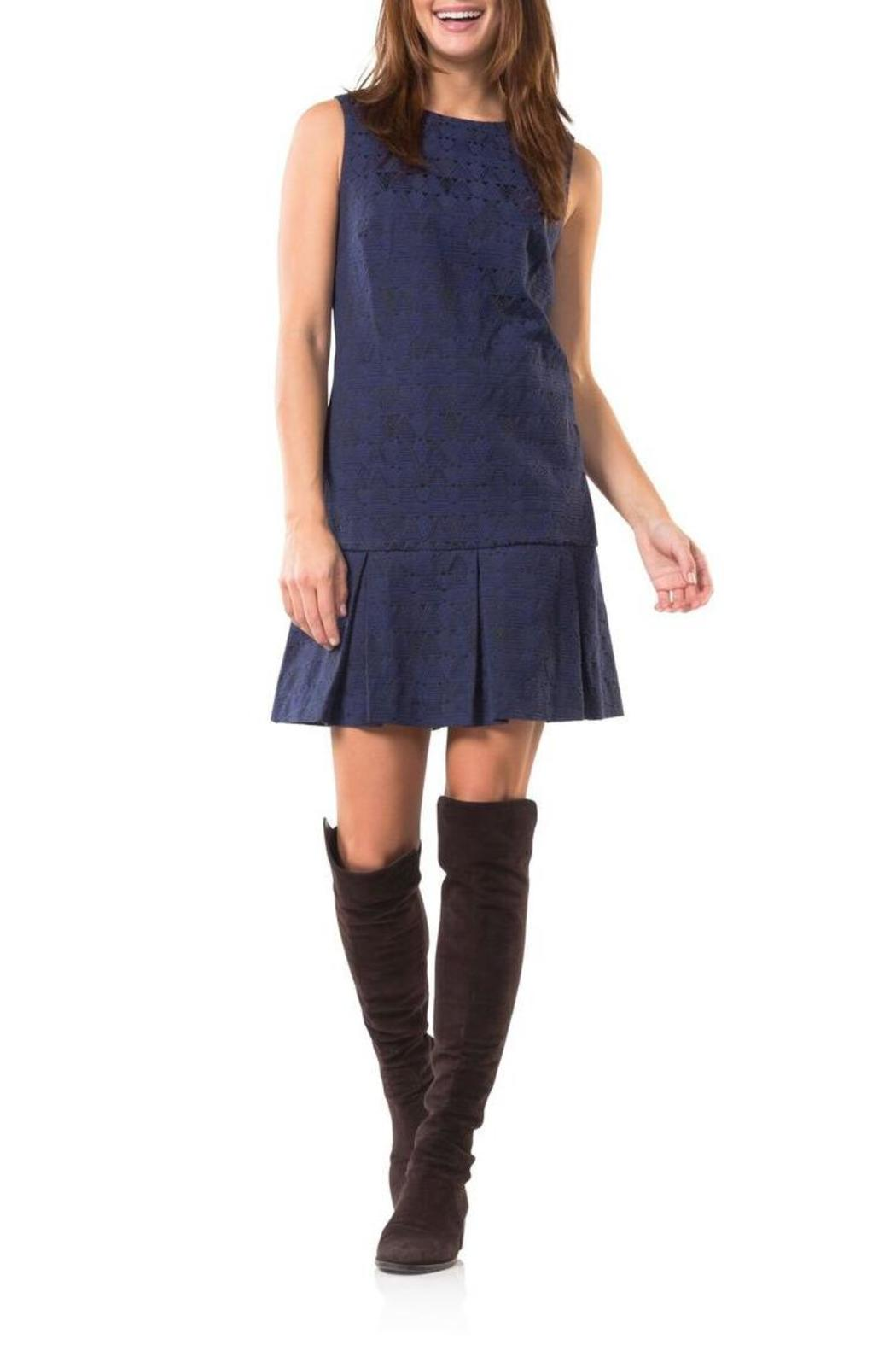 Sail to Sable Jacquard Dress from West Virginia by ...