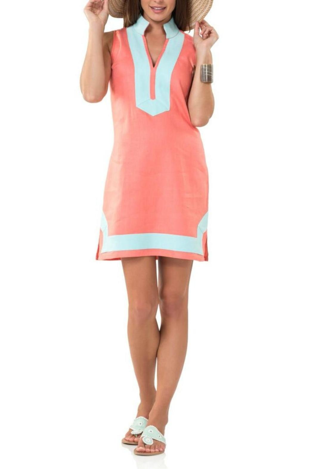 72ddeb00482 Sail to Sable Melon Tunic Dress from West Virginia by Virginia Lee ...