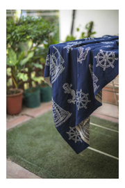 Darzzi SAILBOAT THROW - Side cropped