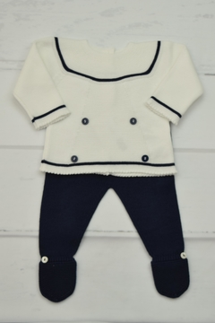 Shoptiques Product: Sailor Newborn Outfit