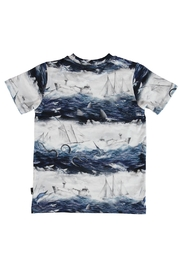 Molo Sailor Stripe T-Shirt - Front full body