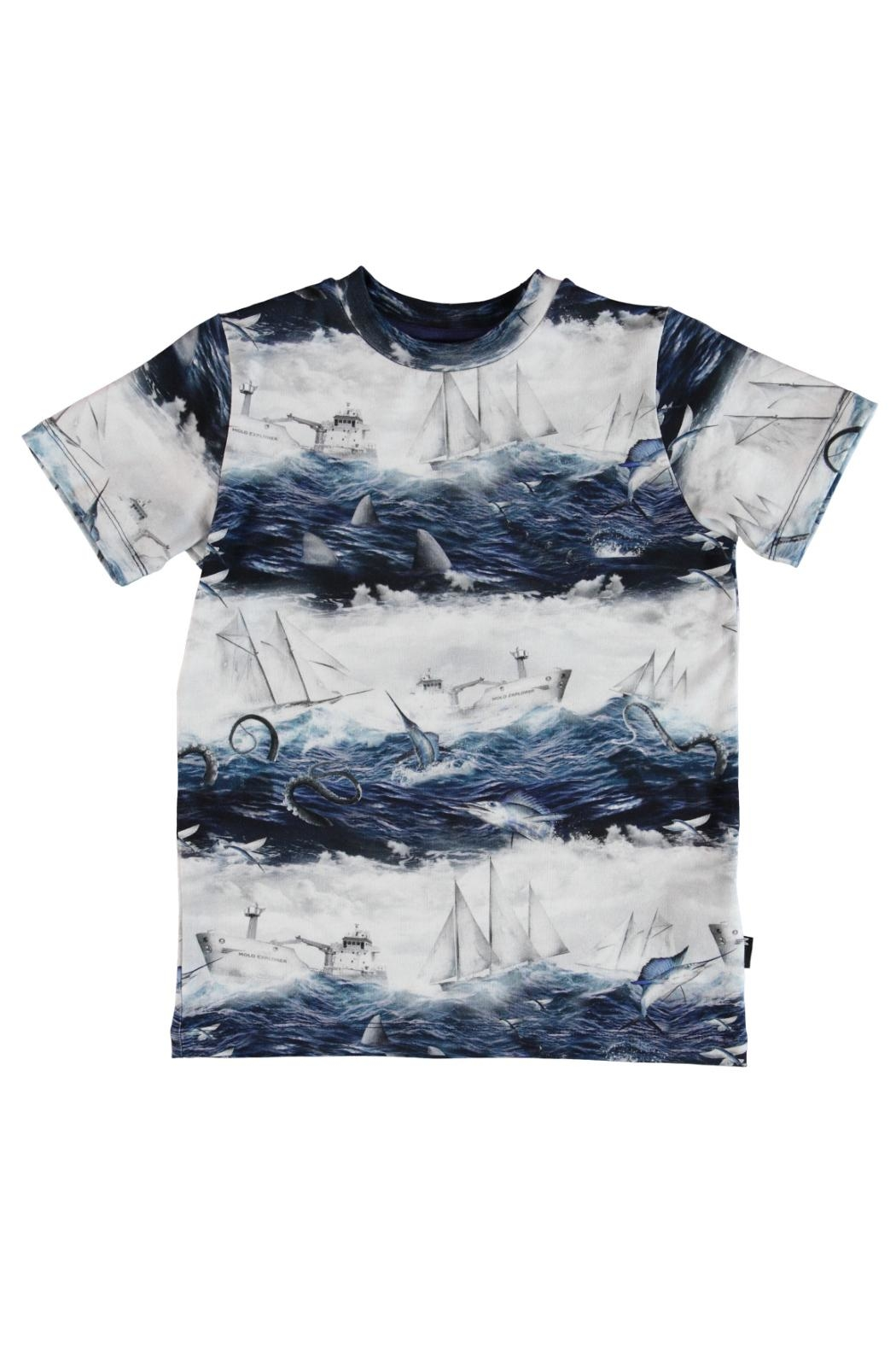 Molo Sailor Stripe T-Shirt - Main Image