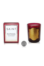 SAINT CANDLES SAINT RAPHAEL SPECIAL EDITION CANDLE - Front cropped