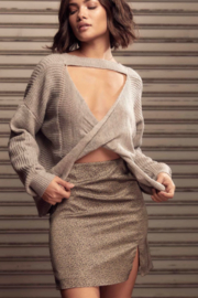 SAGE THE LABEL Saint Reversible Sweater - Side cropped