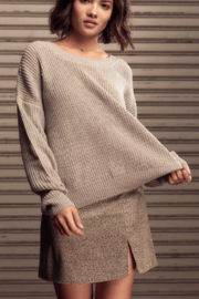 SAGE THE LABEL Saint Reversible Sweater - Product Mini Image
