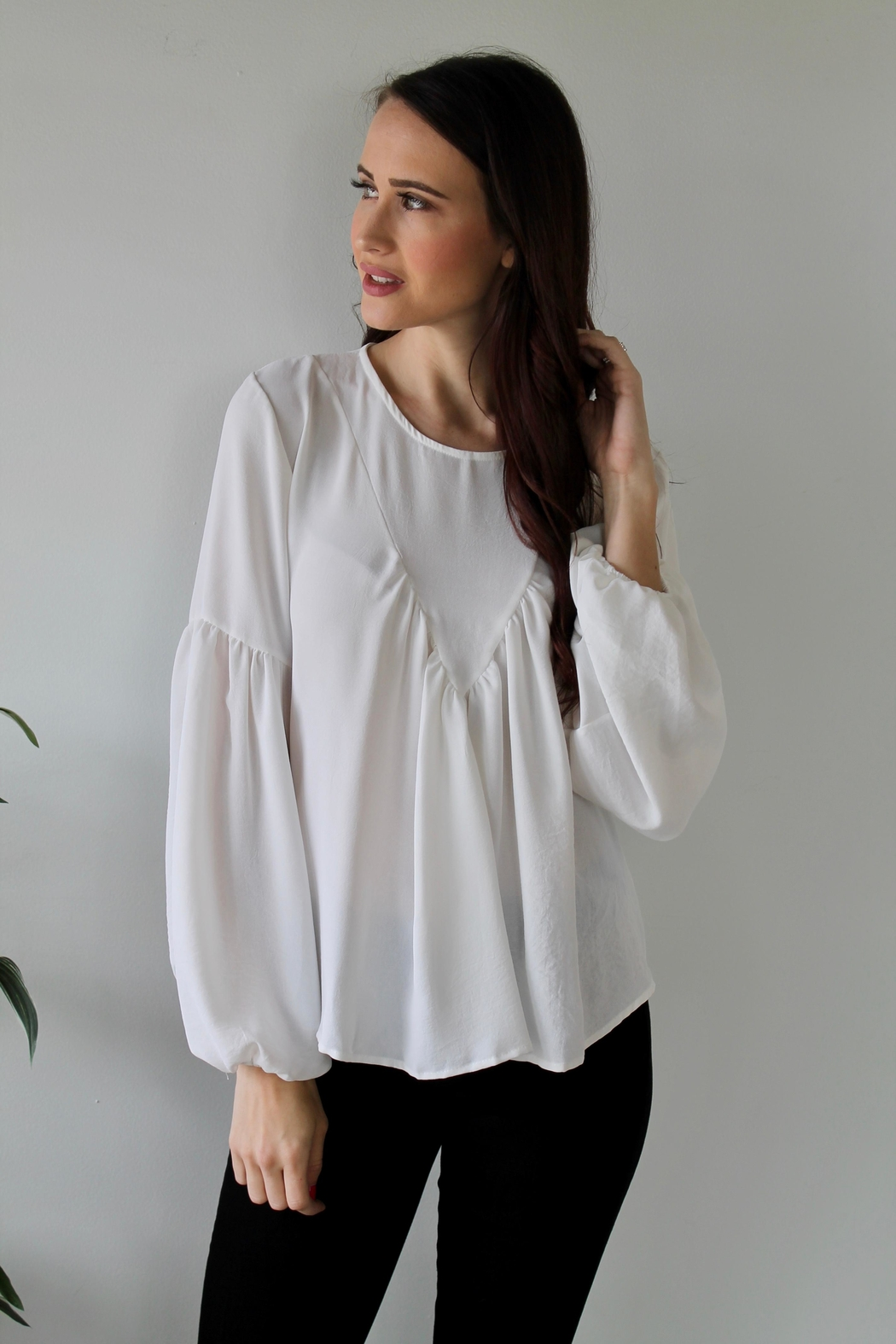 saints and hearts Penelope Blouse - Front Full Image