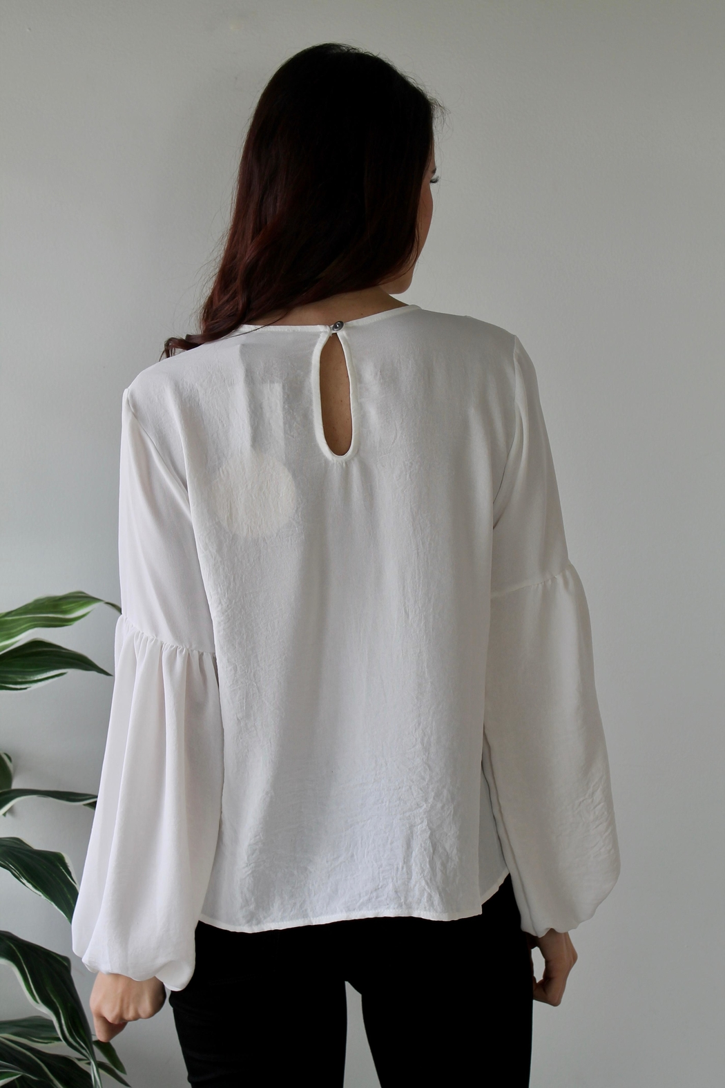 saints and hearts Penelope Blouse - Side Cropped Image