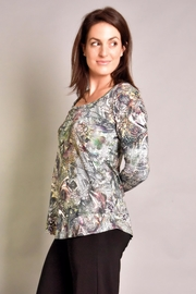 salaam Maddy Printed Top - Front full body