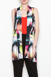 salaam Multi Colored Vest - Front cropped