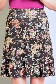 salaam Printed Flippy Skirt - Back cropped