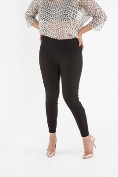 Sallie Sahne Black Stretch Skinny Pants - Product List Image