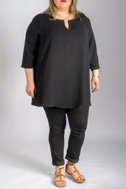 Sallie Sahne Elegant Long Shirt - Product Mini Image