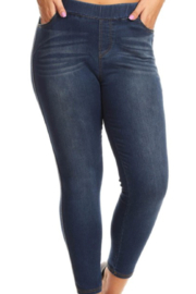 S & G Apparel  Sally's Curvy Skinny Jeans - Product Mini Image